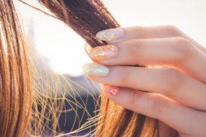 サラサラ髪の女の子2