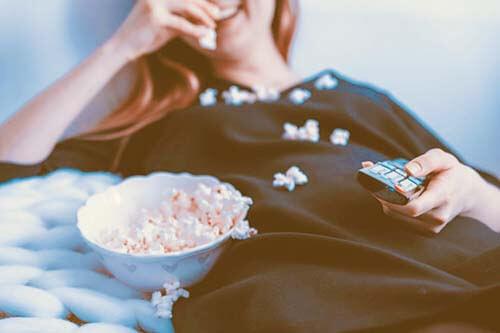 テレビを見ながら【スクワット】