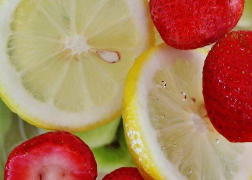 イチゴ・レモンの写真